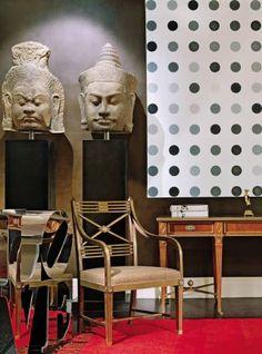 Modern Living Room by Peter Marino and Peter Marino in New York, New York