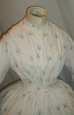 All The Pretty Dresses: Late American Civil War Era Dress Remade from an 1840's Dress