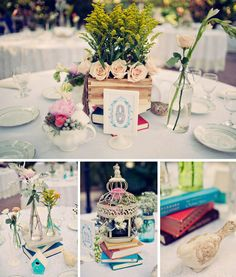 Real Wedding: Jessica + Jason's Whimsical Vintage Miami Wedding