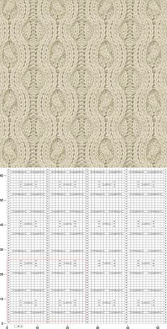 liveinternet.ru Aran Knitting Patterns, Knitting Charts, Lace Knitting, Knitting Stitches, Knit Patterns, Stitch Patterns, Free Crochet, Knit Crochet, Hand Embroidery Stitches