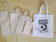 No more plastic bags in our shop!