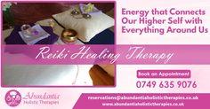 Reiki Healing Session Abundantia Holistic Therapies