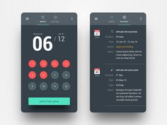 Leave Application App by Danish Ahmed