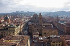 Bologna from San Pietro cathedral