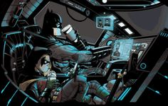 "comic-view: ""Damian should wear his seatbelt. """