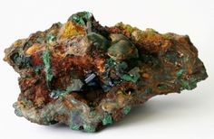 Azurite-Malachite with Cuprite