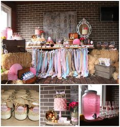 Vintage Cowgirl Party with SUCH CUTE IDEAS via Kara's Party Ideas | KarasPartyIdeas.