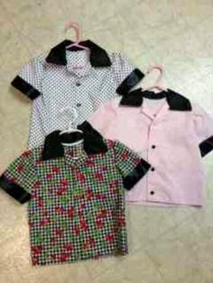 Check out Renee's Closet by Renee Rakitin. She makes the cutest rockabilly clothes for babies and kids.