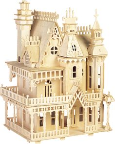 My Dream House :) Affordable too...if a little small...I wonder how much it would be to have a full size version B4A_D004_FANTASY VILLA.jpg (520×648)