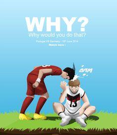 W杯の印象的なあのシーンをかわいいイラストで振り返る : footballnet【サッカーまとめ】