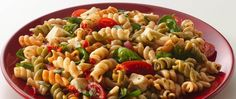 Add spinach and tomatoes to Betty Crocker® Suddenly Salad® mix to make this cheesy pasta salad that's ready in just 15 minutes - a perfect Italian side dish.