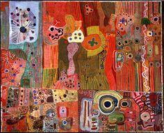 The Great Sandy Desert: From #Australia, the wonderful #Aboriginal painting..#worldtravels