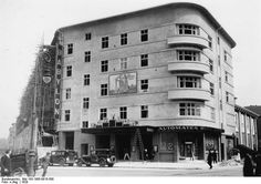 Das Kino Babylon am Bülowplatz, noch im Bau. Berlin, 1929. o.p.