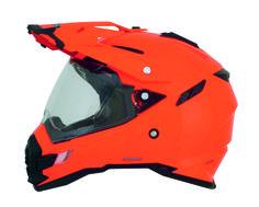 Safety-Orange FX-41DS Dual Sport Helmet