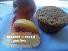 Peaches-n-Cream Muffins