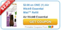 Tri Cities On A Dime: SAVE $2.00 ON AIR WICK ESSENTIAL MIST REFILL