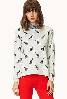 Giraffe Parade Sweatshirt