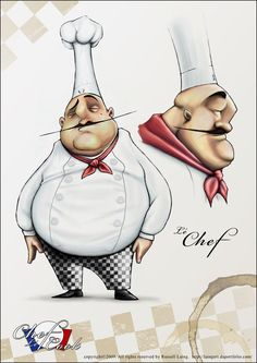 Chef by Rlaing (deviant art)