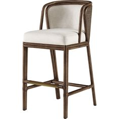 Buy Barbara Barry Ojai Counter Stool by McGuire Furniture - Made-to-Order designer Furniture from Dering Hall's collection of Contemporary Barstools & Counter Stools.