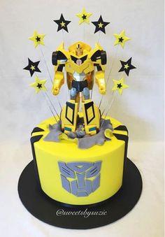 transformers cake transformers
