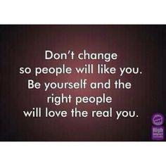 Don't Change...