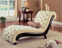 Read on and browse gorgeous bedroom chaise lounge designs and ideas. The chaise lounge is an excellent accessory for your bedroom. Coaster Furniture, Furniture Sale, Living Room Furniture, Furniture Design, Lounge Design, Home Furnishings, Bedroom Decor, Master Bedroom, Interior Design