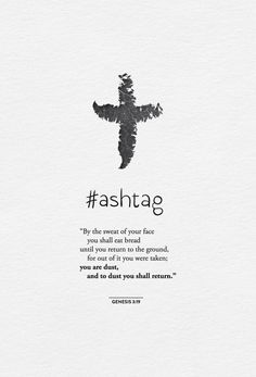 Ash Wednesday marks the first day of Lent and our foreheads are marked with ashes to humble our hearts and remind us that life passes away on Earth. Catholic Beliefs, Catholic Quotes, Catholic Lent, Favorite Bible Verses, Bible Verses Quotes, Faith Quotes, Scriptures, Ash Wednesday Quotes, Lent Prayers