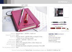 Promocionales Corporativos Kit USB