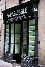 negozio di caramelle a Barcellona
