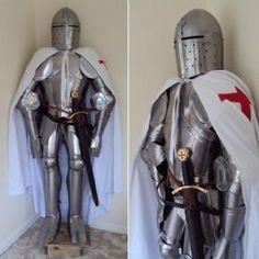 Templar Knights Battle Dress Suit Of Armour