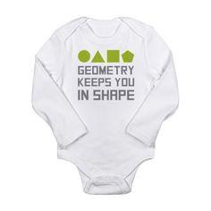 Geometry keeps you in Shape  Body Suit #math