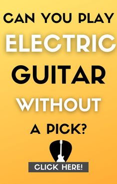 Find out if you can play without a pick on electric guitar, how you would strum chords and famous guitarists who don't use a pick. #guitar #music Easy Guitar Songs, Guitar Tips, Lead Guitar Lessons, Types Of Guitar, Guitar For Beginners, Music Theory, Beast Mode, Playing Guitar, Guitars
