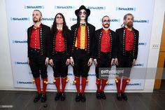 John Alfredsson, Henrik Sandelin, Johannes Eckerstrom, Jonas Jarlsby and Tim hrstrm of the band Avatar visit at SiriusXM Studio on May 5, 2016 in New York City.