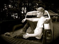 """MY NECK IS RED, THE SKY IS BLUE, AND THE BED OF MY TRUCK WAS BUILT FOR TWO"", Stay Country Clothing, country, cute country boy, redneck, hot guys, cowboy, farm boy, tattoos, pick-up truck, diesel truck, tailgate staycountryclothing.storenvy.com"