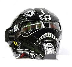 LC Prime® Masei 610 Atomic Man Motorcycle Modular Open Face HJC Icon DOT Helmet(DV)❤Thank❤You✿I❤You❤