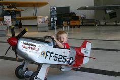 P-51 Mustang Pedal Plane for Allister
