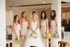 Elegant bouquets for the bridesmaids | Photo by http://jarushabrown.com Wedding coordination by http://adaytoremember.ca Floral design by http://celsiaflorist.com