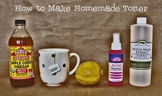 Our Homemade Happiness: Homemade Toner