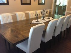 10 Huge Dining Table Ideas Large Dining Room Table Large Dining Room Dining Room Table