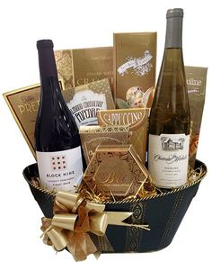 West Coast Wine Holiday Basket