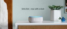 Amazon Echo Dot with Clock looks pretty same as its predecessor except for the addition of an LED clock in the front-edge. Tap to know more. Gadget News, Alexa Skills, Blue Rings, Amazon Echo, Alarm Clock, How To Look Pretty, Things To Come, Led, Projection Alarm Clock