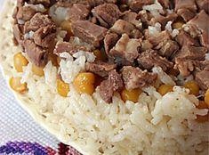 Kuşbaşı Etli ve Nohutlu Pilav Tarifi – Pilav tarifi – The Most Practical and Easy Recipes Rice Recipes, Dessert Recipes, Desserts, Turkish Recipes, Oatmeal, Food And Drink, Favorite Recipes, Cooking, Healthy