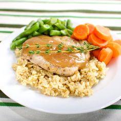 Seasoned Pork Chop with Gravy | DineWise