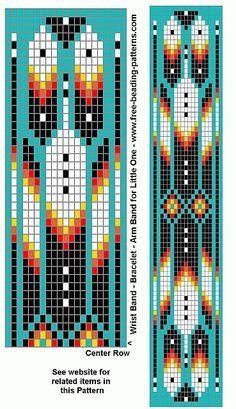 native-american-beadwork-group-turquoise-diamonds-bracelet