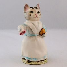 Vintage Beswick Beatrix Potter Tabitha Twitchett Cat Figurine BP-3b Mark ~ from Antik Avenue on Ruby Lane