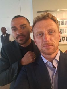 @iJesseWilliams n me backstage #ABCUpfronts2015