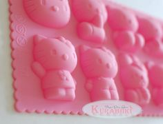 Hello Kitty Silicone Chocolate Mold