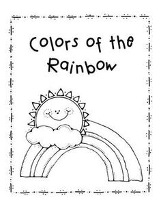 great beginning of the year book to review color words for first graders or work on - Color Books For Kindergarten