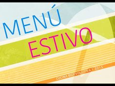 Menù Crudista Estivo N. 1 - Veg Raw Food - YouTube