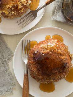 Blueberry and Mascarpone Stuffed Brioche French Toast